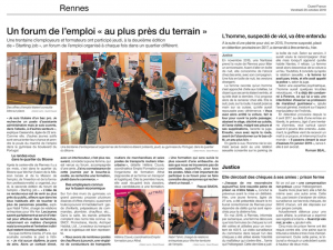 Forum « Starting Jobs » organisé par We Ker