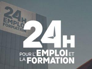 Participation au Salon 24H Emploi Formation à Rennes