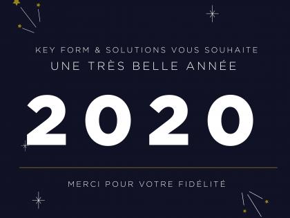L'année 2019 en quelques chiffres pour KEY FORM & Solutions